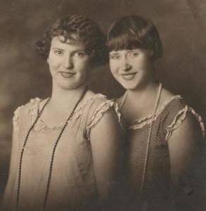 Myrtle and Edna Elton